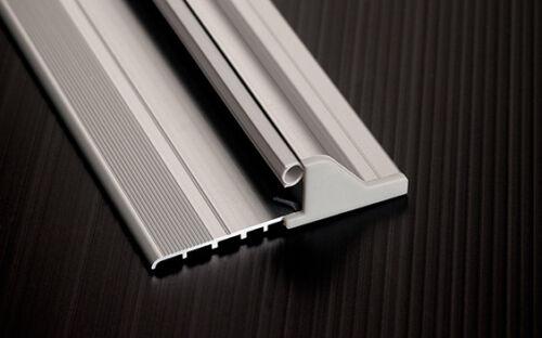 Soglia in Alluminio Antipioggia Domatic Per Porte e Infissi Argento o Marrone