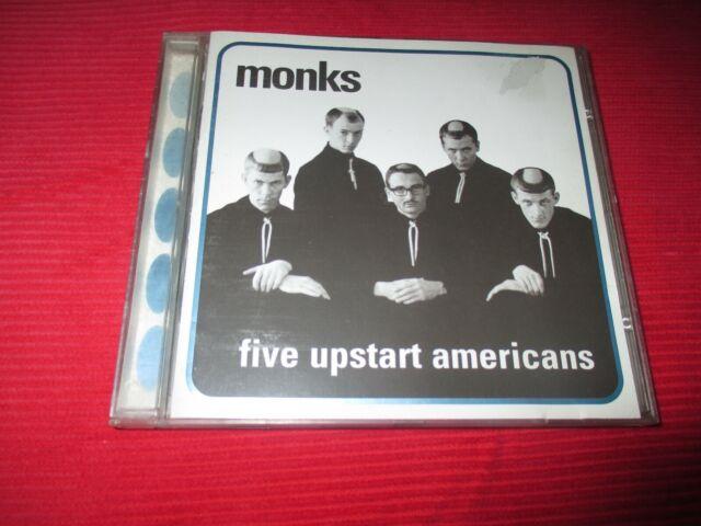 MONKS FIVE UPSTART AMERICANS 1999 12 TRACK CD