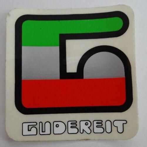 alter Aufkleber GUDEREIT Logo Fahrräder Bielefeld Rahmen Sticker 70er Oldtimer