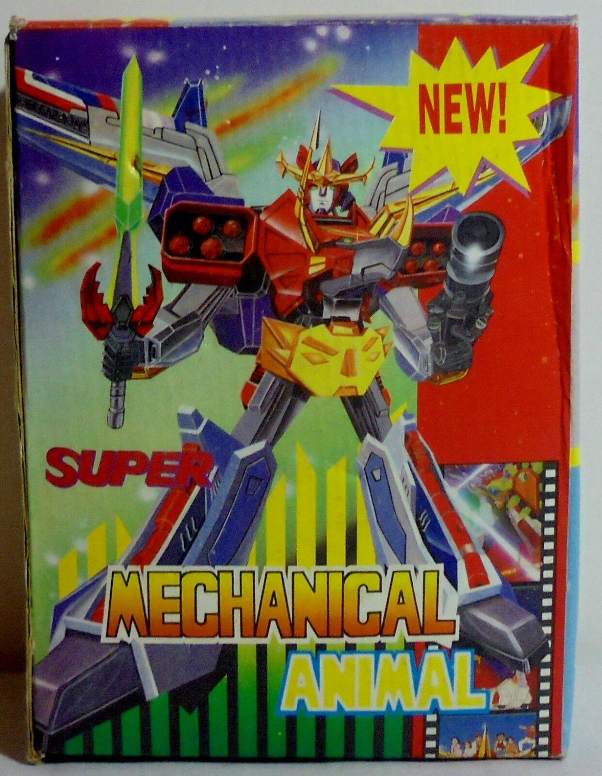 JUN FENG VTG 1986 SUPER MECHANICAL ANIMAL R/C ROBOT VOLTRON DAGWON UNUSED MIP