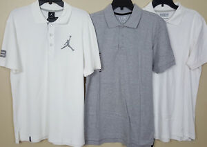 c44a2d1b62f NIKE AIR JORDAN POLO SHIRT WHITE + 2 EXTRA SHIRTS NEW (LOT OF 3 ...