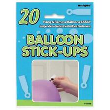 20 Balloon stick-Ups for Easy Hanging of Balloons on Ceilings & Walls