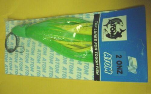 WITH GLITTER 6 ATOM SMOKER MODEL 1LB300GY GREEN//YELLOW