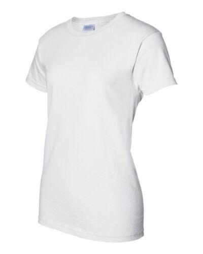 100 Gildan Ladies Ultra Cotton White T-Shirt 2000L Bulk Lot Wholesale XS-XL