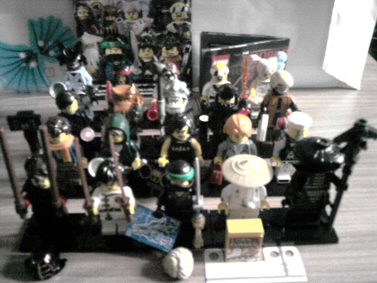 LEGO THE NINJAGO MOVIE Alle 20 Minifiguren KOMPLETT Serie 71019 Mini Figur TOP
