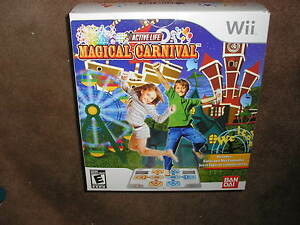 New Wii Active Life: Magical Carnival Game & Mat   (Wii, 2011)