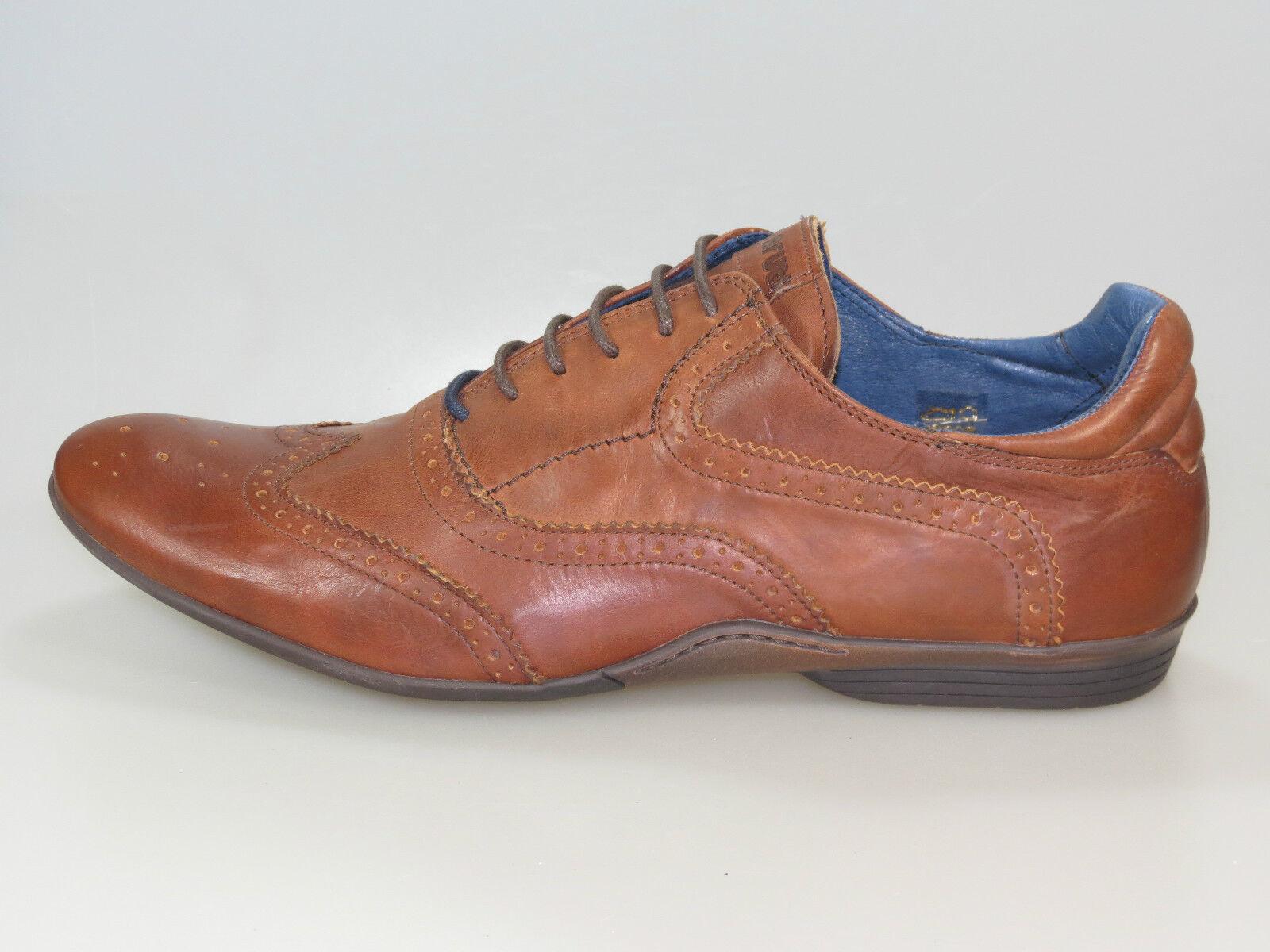 Maruti Schuhe Oleos Men 66.20075.2046 Nut Leather +NEU+ verschiedene Größen