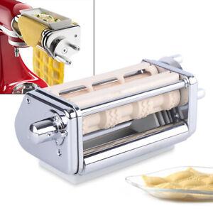 For-KitchenAid-Ravioli-Maker-Steel-Pasta-Attachment-For-Kitchen-Aid-Stand-Mixer
