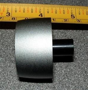 long reach silver knob 40mm dia for 1/4inch shaft x 1 E863PM Arcam