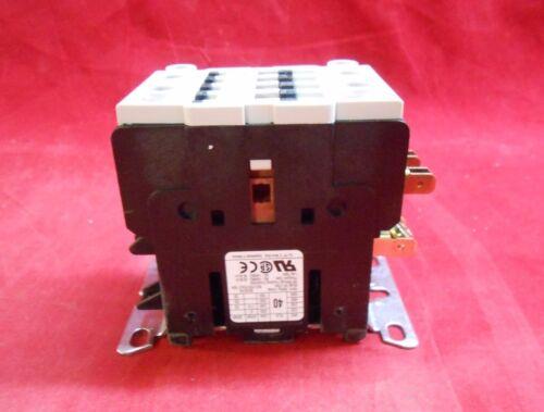 NEW GE CR453AD3HBMA00CAP Definite Purpose Contactor 40Amp