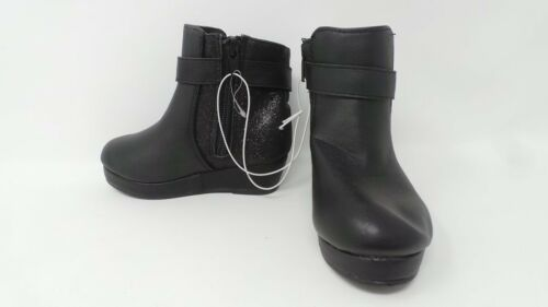 New Toddler Cherokee Kyri Wedge Boots Style 093017295 Black 73D pr