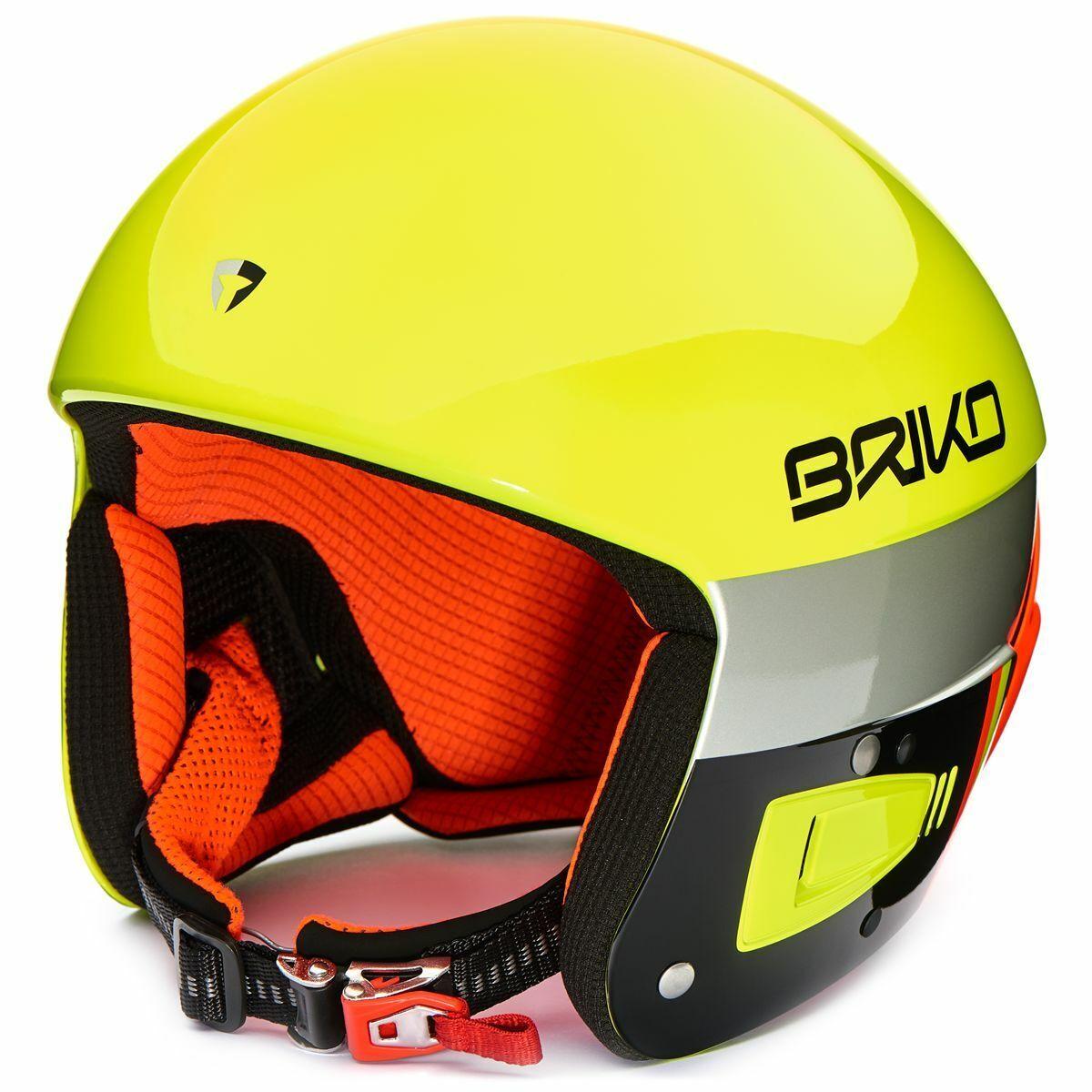Helm Wettspiel Cup die Welt Skifahren Unisex Briko Vulcano Fis 6.8 Kol. Gelb
