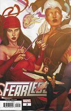 Fearless #1 Fiercest Ladies of Marvel Unite Comic 1st Print 2019 NM