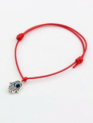 Kaballah kit: . RED Hamsa BRACELET & Ben Porat PRAYER ~ ~  judaica gift present