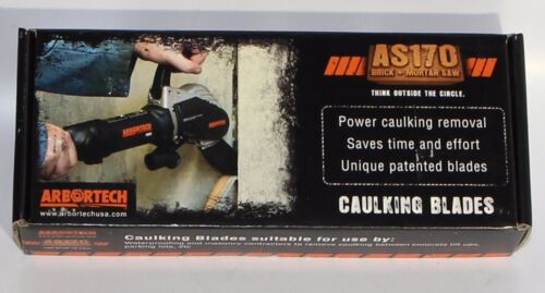 "Arbortech BLA.FG.9100 1/"" Caulking Blades AS170 Brick and Mortar"