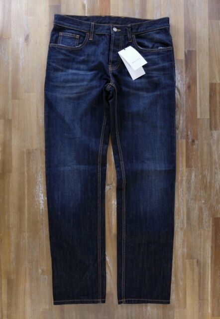 data di rilascio 4021e 6988b GUCCI dark blue jeans authentic - Size 30 US / 46 EU - NWT