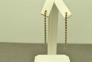 FASHION-JEWELRY-SQUARE-JOINTED-RHINESTONE-STICK-BACK-EARRINGS-COS009