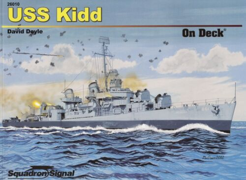 20111// Squadron Signal On Deck No 10 TOPP HEFT USS Kidd