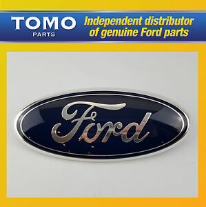 Details About Genuine New Ford Transit 06 13 Mk7 Front Grille 9 Oval Logo Name Plate Badge