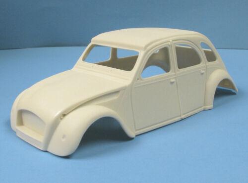 Jimmy Flintstone 251 1950/'s Citroen 4 door Resin model car body 1//25