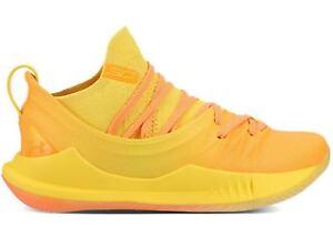 Under Armour Curry 5 Yellow Orange Asia