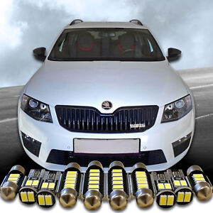 5630-PREMIUM-LED-Innenraumbeleuchtung-fuer-SKODA-Octavia-III-5E-RS-inkl-Facelift