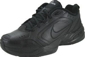 Nike Air Monarch Iv Low Zapatillas 001 Hombres Zapatos Negro 415445 001 Zapatillas Tamaño fffe59