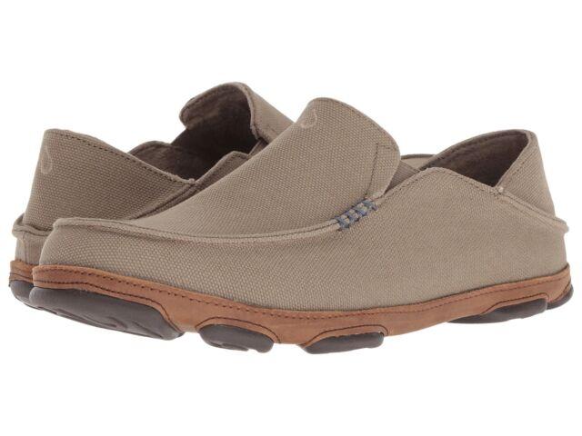 Olukai Men/'s Moloa Kapa Clay//Toffee Loafer US Sizes