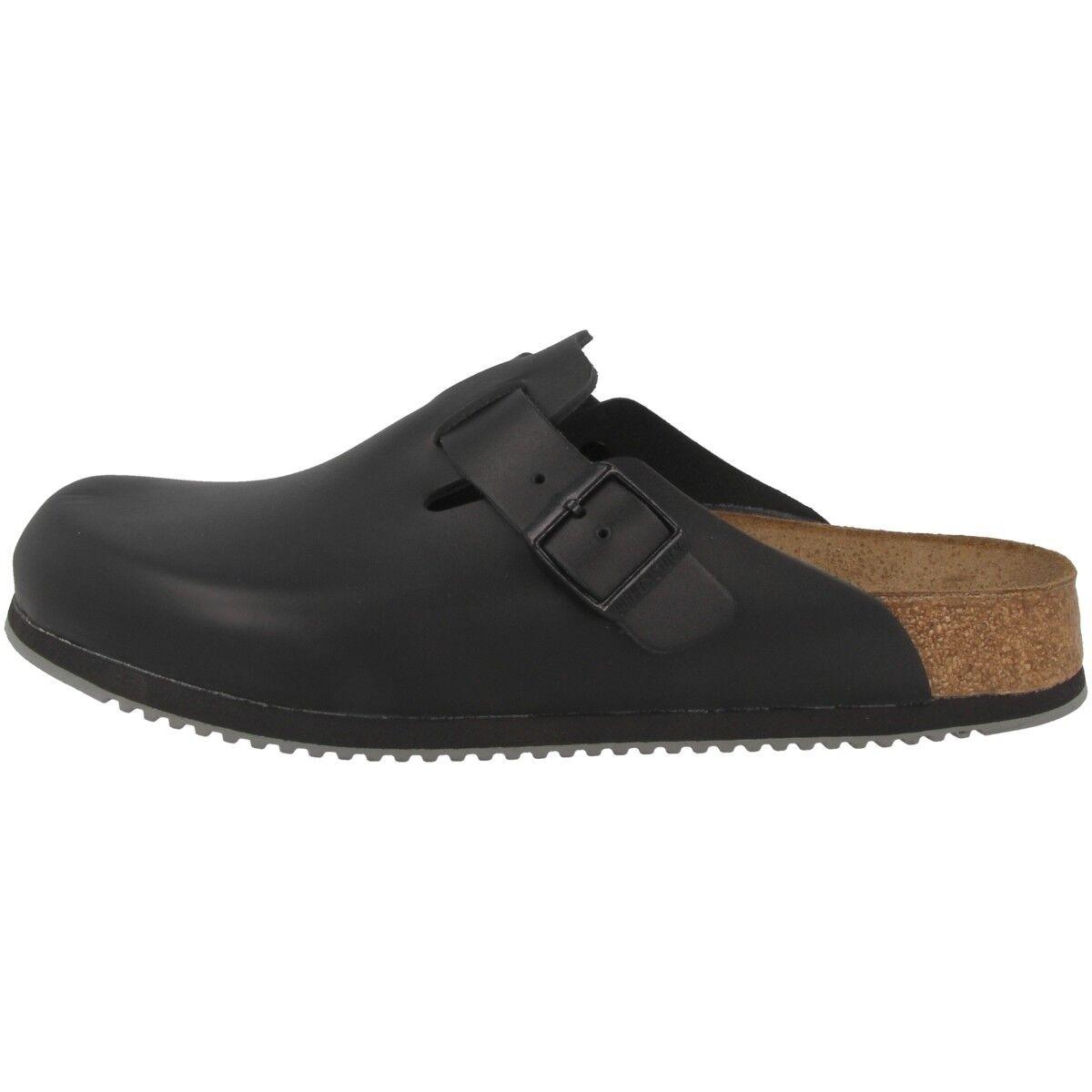 Birkenstock Boston SL Weite Naturleder Clogs Pantoletten Schuhe Weite SL normal 060194 6813a7