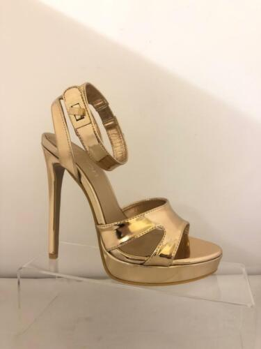 Boutique Barely There Platform High Heel Stiletto Sandals Shoes Brand New MP9
