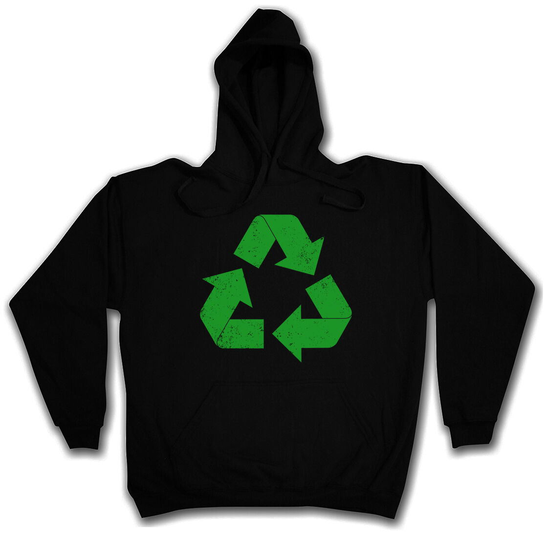 THE BIG RECYCLE LOGO BANG THEORY HOODED SWEAT - Kapuzenpullover Hoodie - TBBT