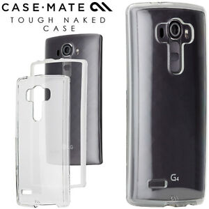 low priced 4d48d e0fcd Details about CASE-MATE Naked Tough Dual Layer Protection CLEAR Case For LG  G4 - New