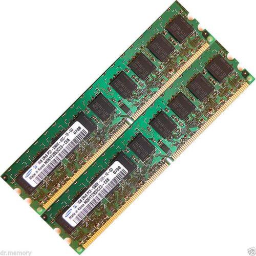 2x 4GB 2GB Lot Memory Ram 4 Dell PowerEdge R805 M905 R200 T105 SVT1051 850