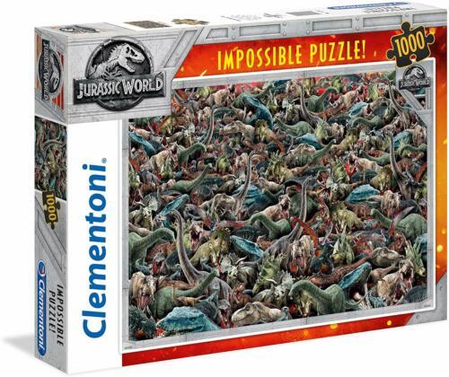 39470 Clementoni Impossible Puzzle 1000 Pièces Jurassic World