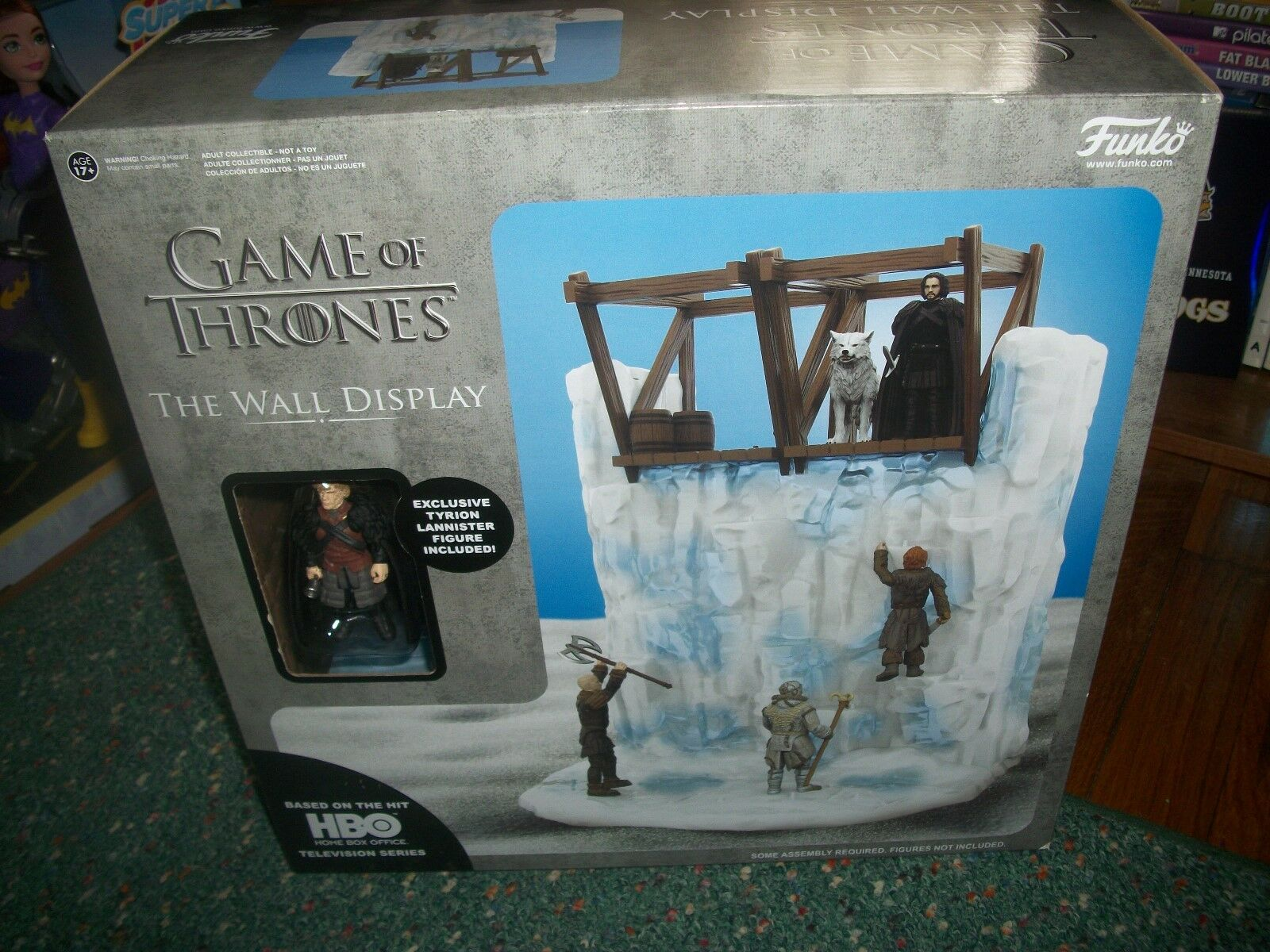 GAME OF THRONES WALL DISPLAY-- BY FUNKO-- ADULT COLLECTIBLE SEALED.