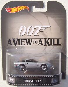 Image Is Loading Hot Wheels Retro James Bond A View To