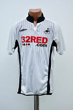 SWANSEA ENGLAND 2009/2010 HOME FOOTBALL SHIRT JERSEY MAGLIA UMBRO