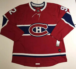 Details about New NHL Official Adidas Montreal Canadiens Jonathan Drouin Men's 52Large Jersey