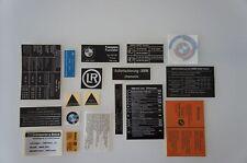 BMW 2002 turbo Sticker Set Aufklebersatz