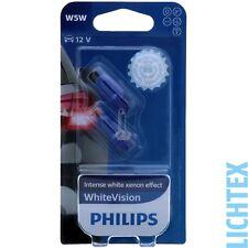 W5W / T10 PHILIPS WhiteVision Xenon-Effekt Scheinwerfer Lampe DUO-Pack-Box