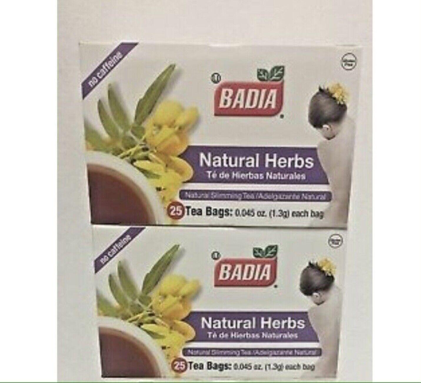 badia herbs natural slimming ceai)