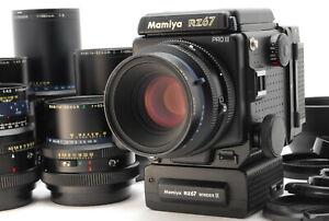 Nuovo-di-zecca-Mamiya-RZ67-Pro-II-con-110-65-140-180-250-360mm-6-LENTE-Avvolgitore-DAL-GIAPPONE-887
