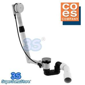 3s colonna di scarico vasca da bagno automatica con sifone e troppopieno coes ebay - Sifone vasca da bagno ...