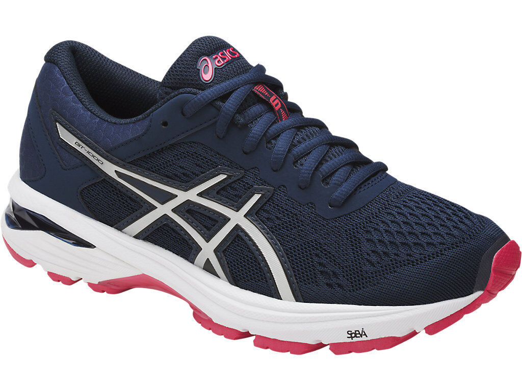 Asics GT 1000 6 Womens Running Shoes (D) (5093)