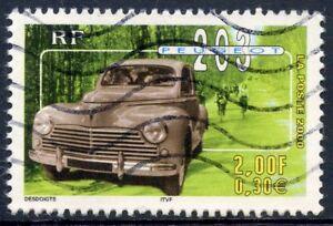 Stamp / Timbre France Oblitere N° 3324 Voiture / Peugeot 203