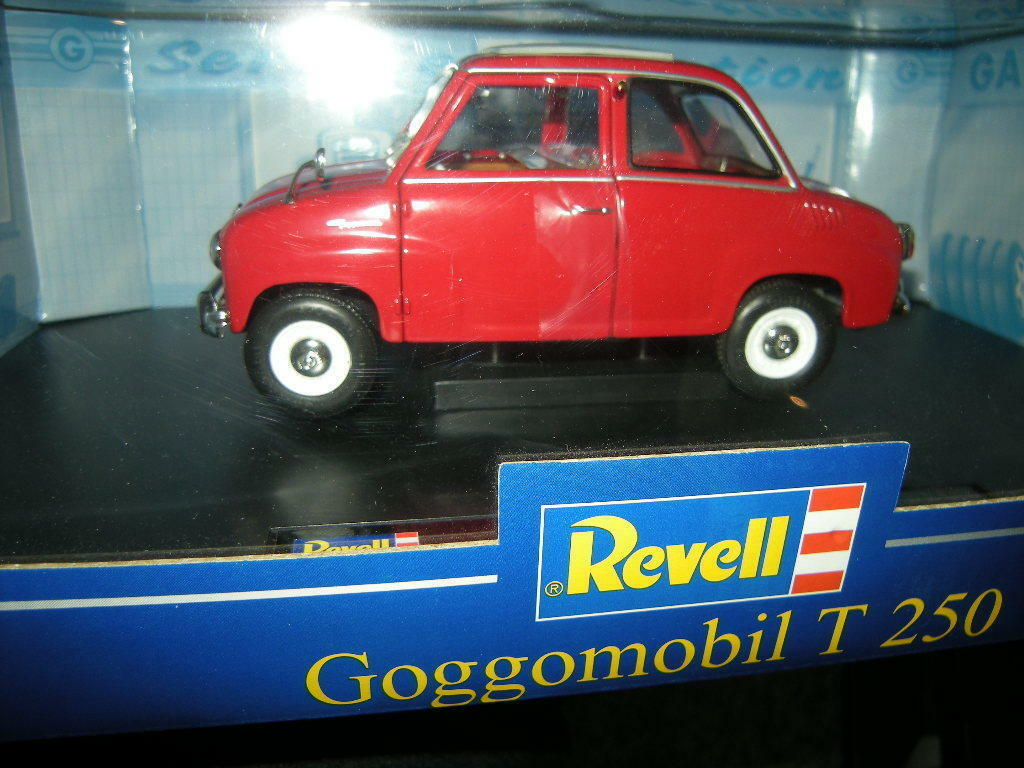 1 18 Revell Goggomobil T 250 250 250 red red in OVP 534330