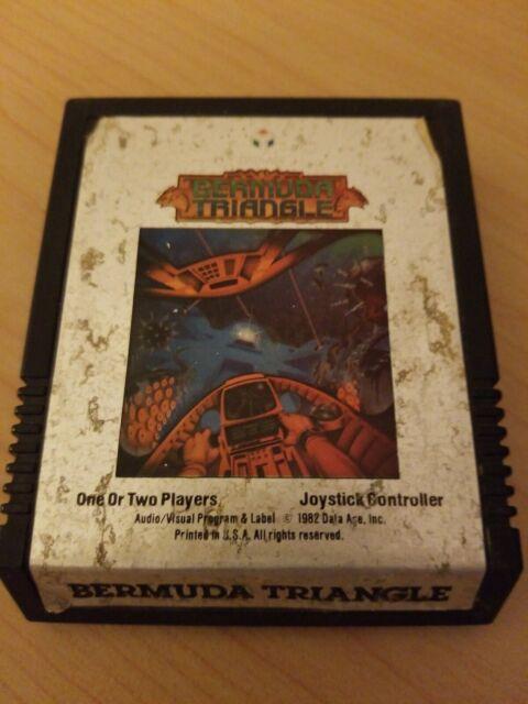 Bermuda Triangle Atari 2600 Game Cartridge UNTESTED FREE SHIP