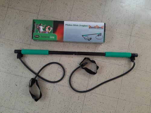 Fitnessübung Pilates Bar Stick Yoga Gymstick mit Widerstandsband Hantel Trainer