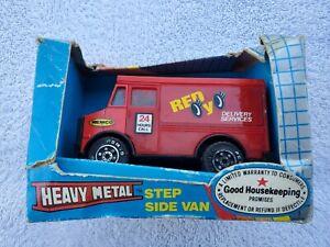 Vintage Remco Heavy Metal Step Side Van ~ New In Box~ 1988 ~ 0951