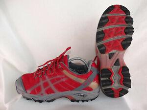 stabilna jakość 100% autentyczny ujęcia stóp Details zu Asics Gel-Nordic Gore-Tex XCR Damen Walkingschuhe QY564 rot-grau  EU 39,5 US 8